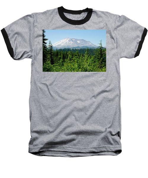 Mt. St. Hellens Baseball T-Shirt by Tikvah's Hope