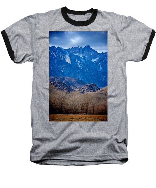 Mt. Whitney And Alabama Hills Baseball T-Shirt