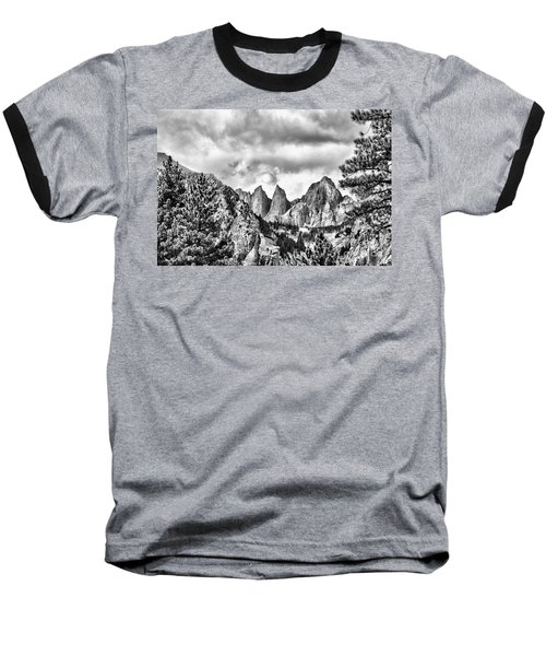 Baseball T-Shirt featuring the photograph Mt. Whitney by Peggy Hughes