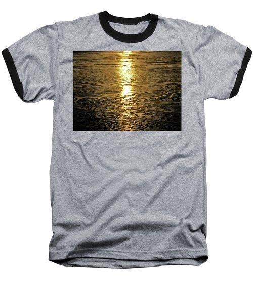 Baseball T-Shirt featuring the photograph Muddy Reflection by Jeremy Rhoades