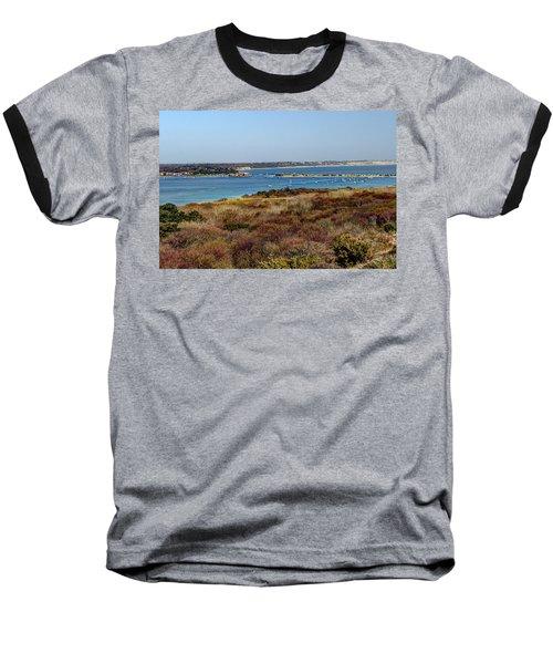 Mudeford Harbour Baseball T-Shirt