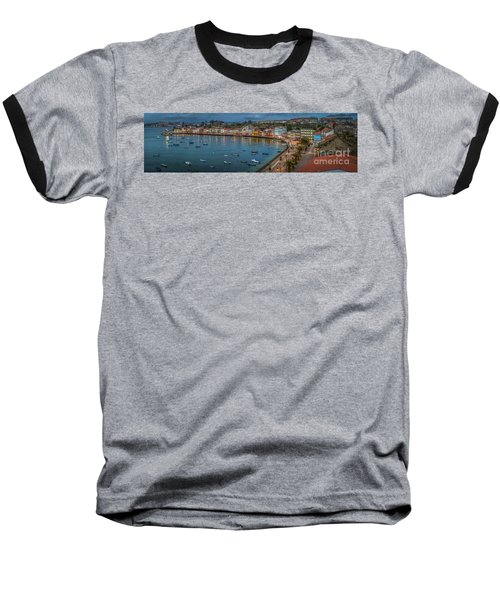 Mugardos Panorama Galicia Spain Baseball T-Shirt
