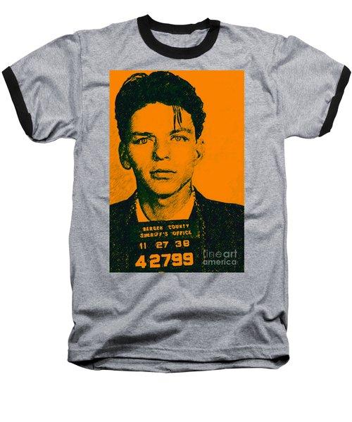 Mugshot Frank Sinatra V1 Baseball T-Shirt