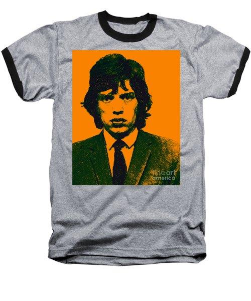 Mugshot Mick Jagger P0 Baseball T-Shirt