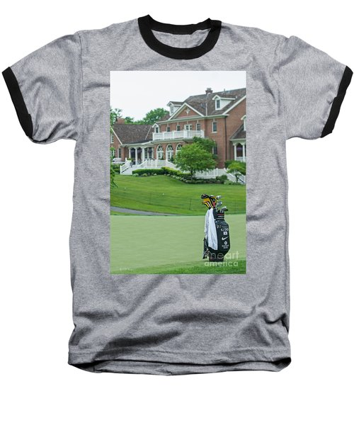 D12w-289 Golf Bag At Muirfield Village Baseball T-Shirt