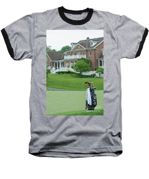 D12w-289 Golf Bag At Muirfield Village Baseball T-Shirt