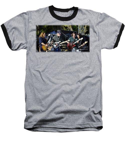 Mule And Widespread Panic - Wanee 2013 1 Baseball T-Shirt by Angela Murray