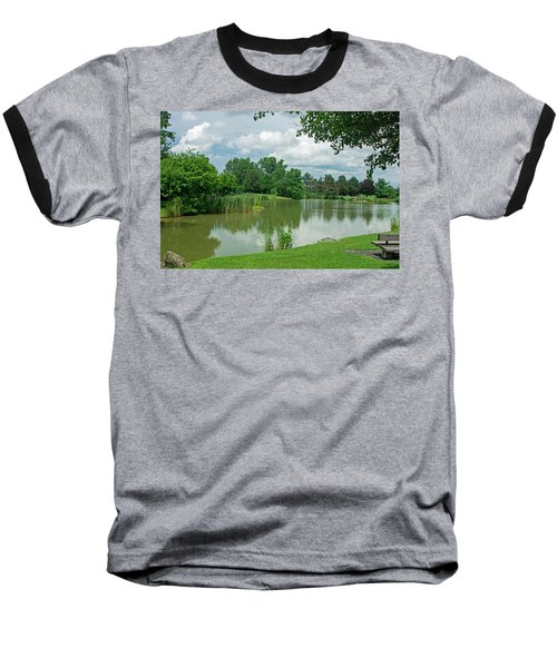 Muller Chapel Pond Ithaca College Baseball T-Shirt