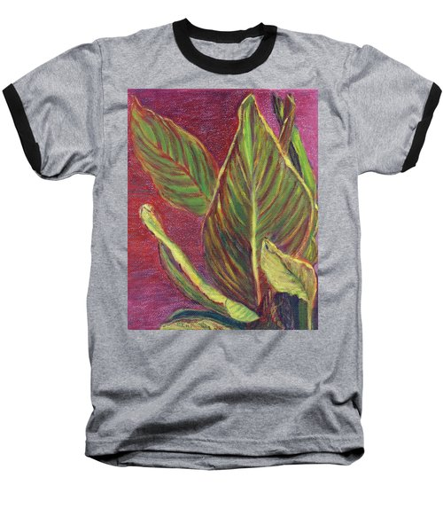 Multicolor Leaves Baseball T-Shirt