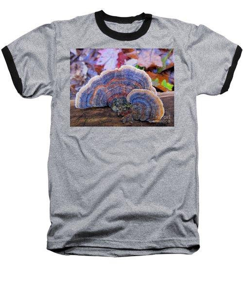 Multicolor Mushroom Baseball T-Shirt
