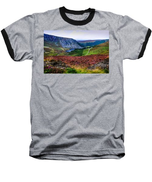 Multicolored Carpet Of Wicklow Hills. Ireland Baseball T-Shirt