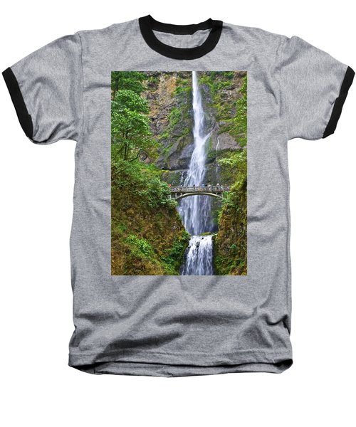 Multnomah Falls 4 Baseball T-Shirt