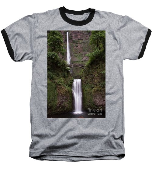 Multnomah Falls Baseball T-Shirt