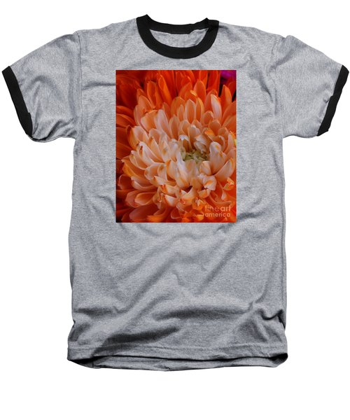 Mum On Fire Baseball T-Shirt