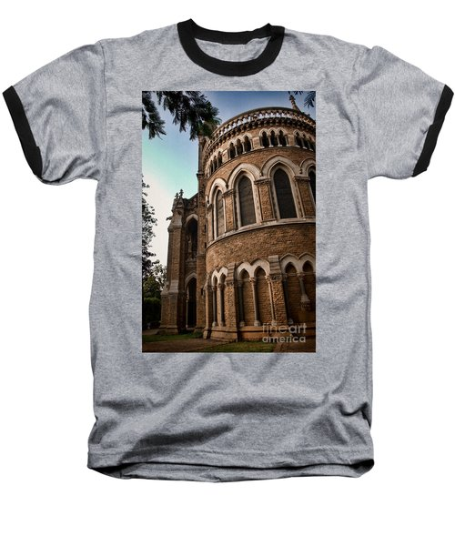 Mumbai University Baseball T-Shirt