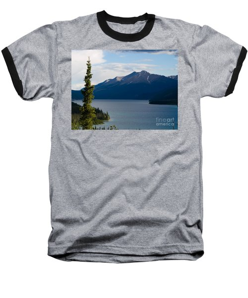 Muncho Lake Baseball T-Shirt by Tara Lynn