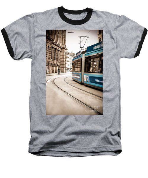 Munich City Traffic Baseball T-Shirt