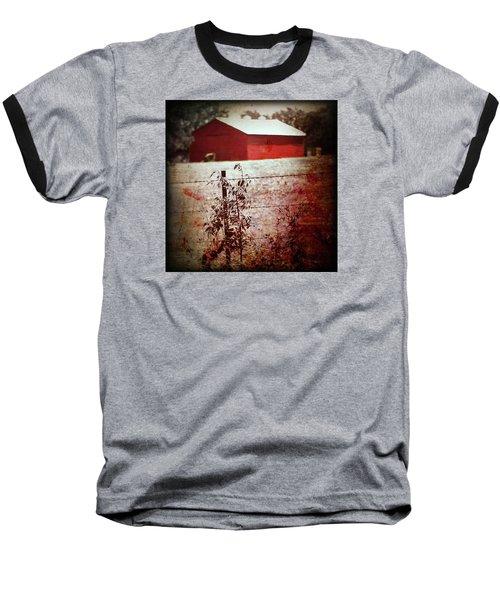 Murder In The Red Barn Baseball T-Shirt