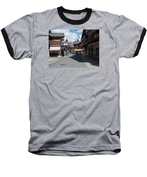 Murren Switzerland Baseball T-Shirt