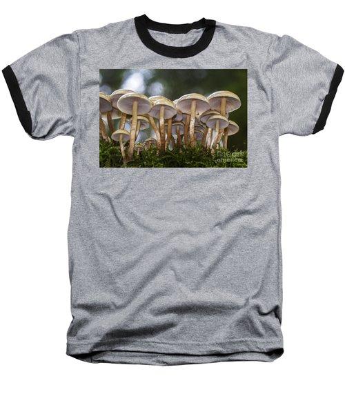 Mushroom Forest Baseball T-Shirt