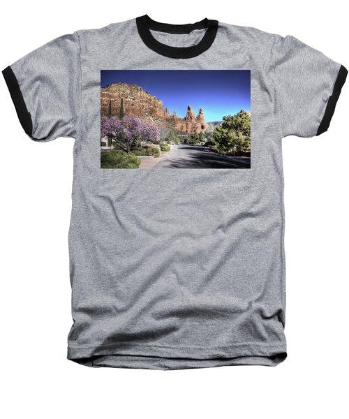 Baseball T-Shirt featuring the photograph Mushroom Rock by Lynn Geoffroy