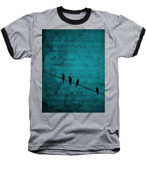 Music Soothes The Soul Baseball T-Shirt by Andrea Kollo