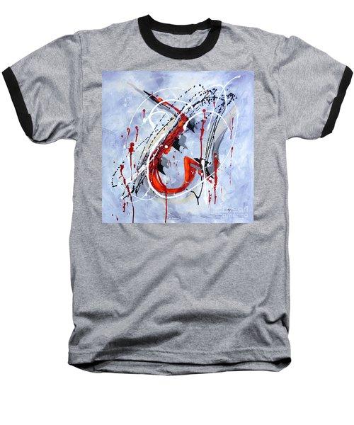 Musical Abstract 005 Baseball T-Shirt
