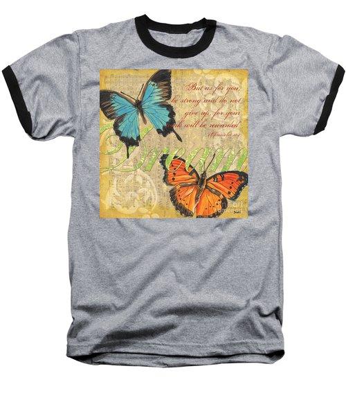 Musical Butterflies 1 Baseball T-Shirt