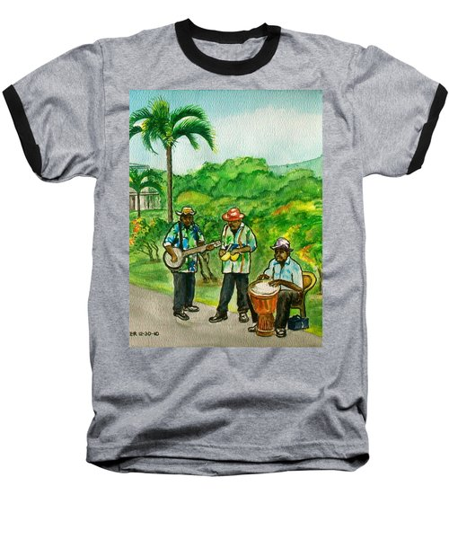 Musicians On Island Of Grenada Baseball T-Shirt