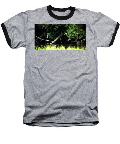 Muskegon River Heron Baseball T-Shirt
