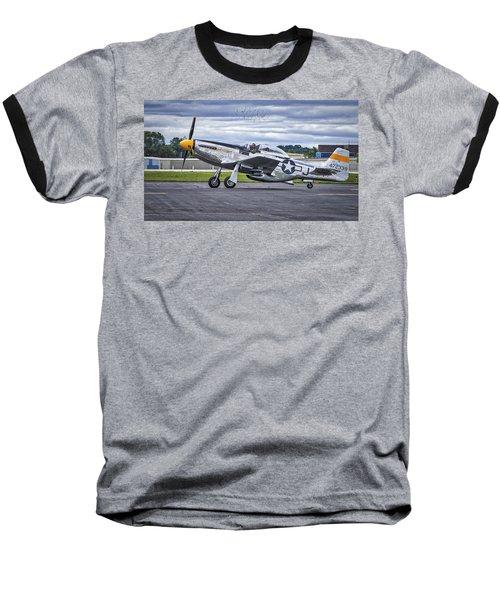 Mustang P51 Baseball T-Shirt
