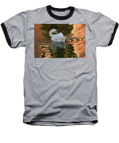 Baseball T-Shirt featuring the photograph Preening by Kate Brown