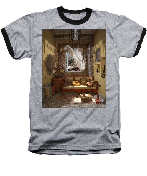 My Art In The Interior Decoration - Morocco - Elena Yakubovich Baseball T-Shirt