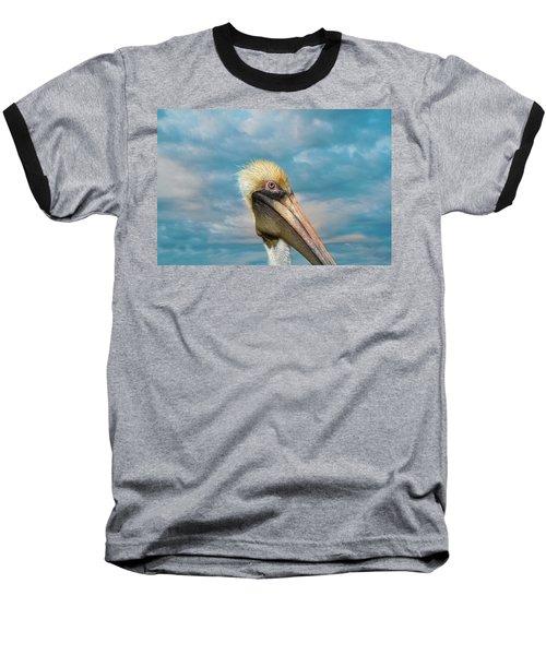 My Better Side - Florida Brown Pelican Baseball T-Shirt