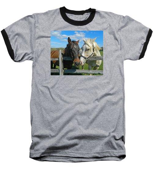 My Buddy Baseball T-Shirt by Emmy Marie Vickers