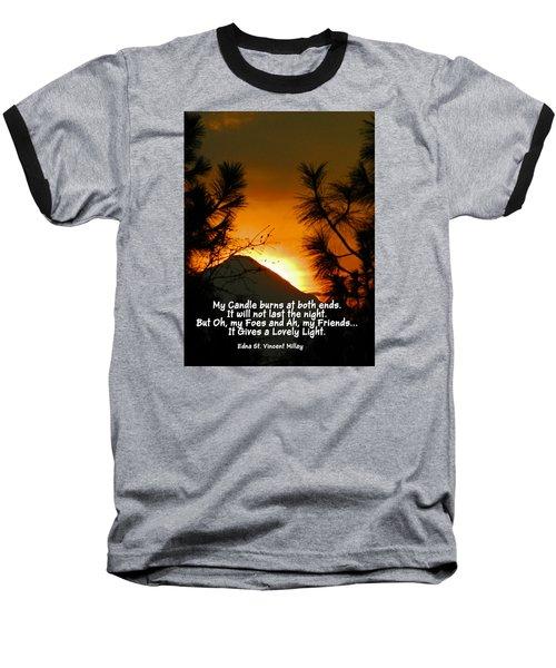 My Candle Baseball T-Shirt