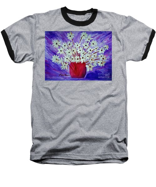 My Daisies Blue Version Baseball T-Shirt