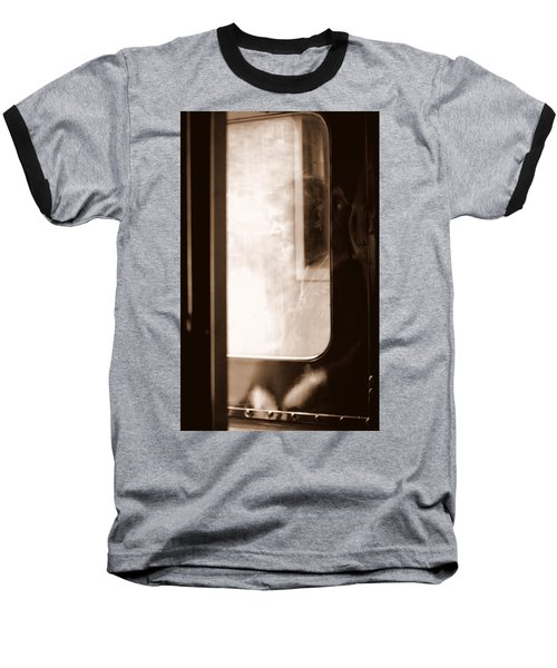 Baseball T-Shirt featuring the photograph My Father by Faith Williams