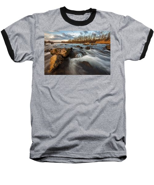 Baseball T-Shirt featuring the photograph My Favorite Spot by Davorin Mance