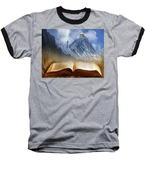 My Firm Foundation Baseball T-Shirt