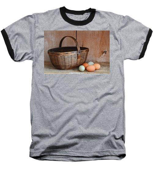 My Grandma's Egg Basket Baseball T-Shirt