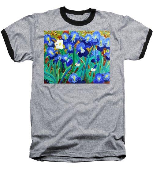 My Iris - Inspired  By Vangogh Baseball T-Shirt