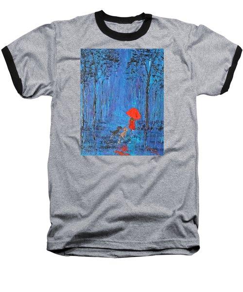 My Journey  Baseball T-Shirt by Patricia Olson