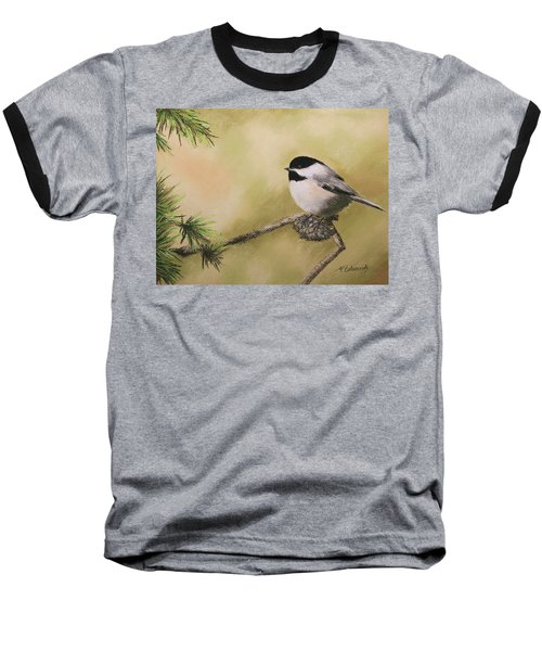 My Little Chickadee Baseball T-Shirt