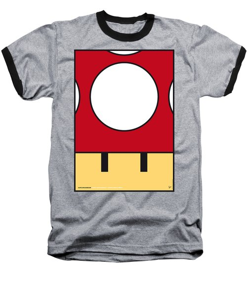 My Mariobros Fig 05a Minimal Poster Baseball T-Shirt