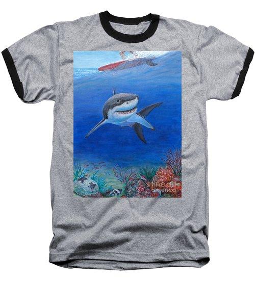 My Pet Shark Baseball T-Shirt