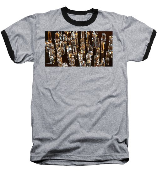 My Quartz Crystal Collection Baseball T-Shirt by Tom Janca