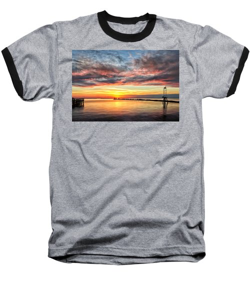 My Return To Cape Charles Virginia Baseball T-Shirt