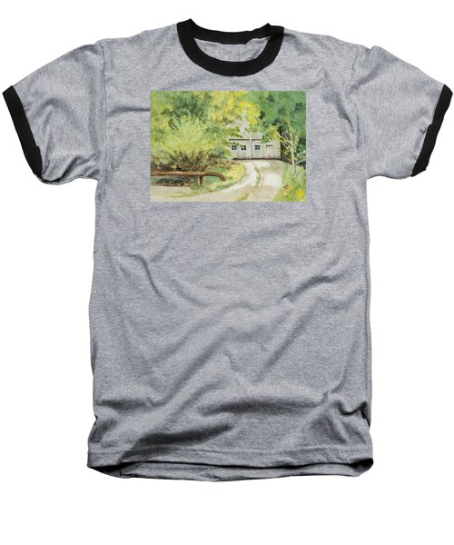 My Secret Hiding Place Baseball T-Shirt by Lee Beuther