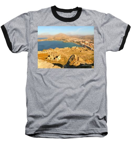 Baseball T-Shirt featuring the photograph My Toy Castle by Vicki Spindler